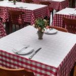 Toalhas de papel para mesa